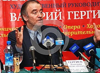 Valery Gergiev Editorial Image