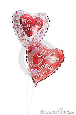 Valetine Mylar Balloons