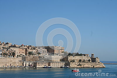 Valetta, Malta Editorial Stock Photo