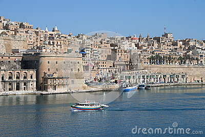 Valetta Skyline, Malta Editorial Photo
