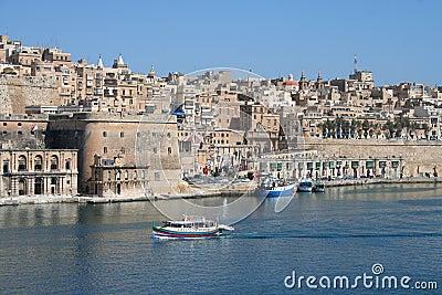 Valetta Skyline, Malta Editorial Photo