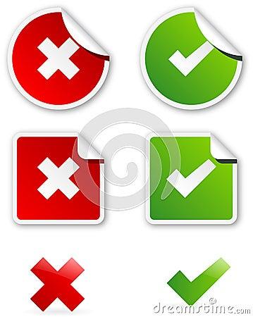 Validation icons
