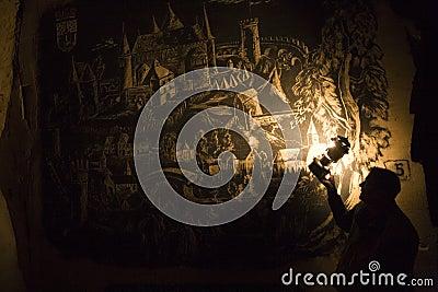 Valkenburg in charcoal