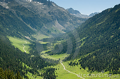 Valle de Aran Spanish Pyrenees