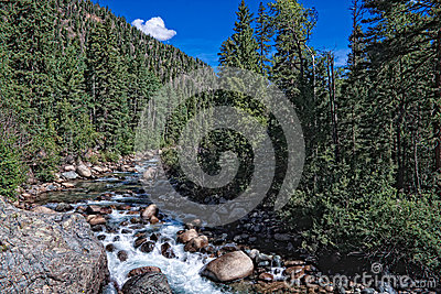 Vallecito Trail-Weminuche Wilderness-Clorado