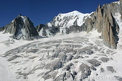 Vallee Blanche, Mont Blanc