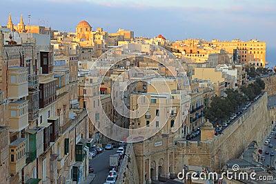 Valleta, capital of Malta
