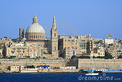 Valletta old town, Malta