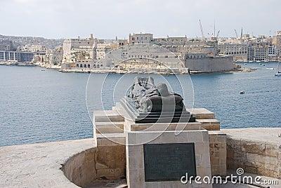 Valletta Statue