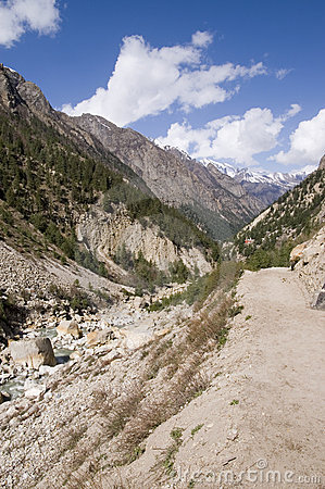 Valley of Bhagirathi (Ganga) river