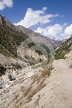 Valley of Bhagirathi (Ganga) river