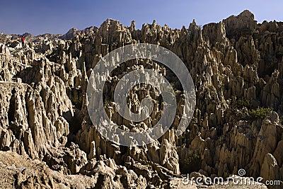 Valley de la Luna - Moon Valley - La Paz - Bolivia