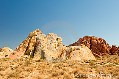 Valley of Fire desert scene
