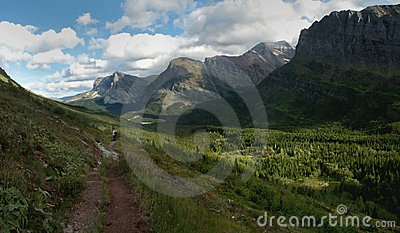 Valley, Glacier NP