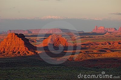 Valley of the Gods  at sunrise