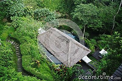 Valley spa of Maya Ubud resort