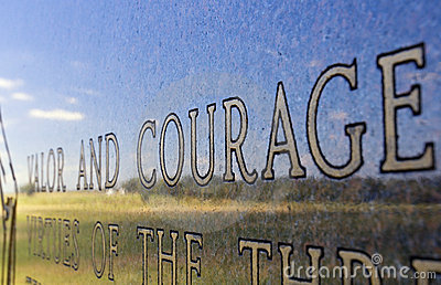 Valor And Courage Monument Gettysburg Battlefield Pennsylvania