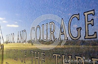 Valor And Courage Monument Gettysburg Battlefield Pennsylvania