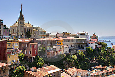 Valparaiso city Chile