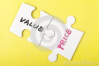 Value and price words
