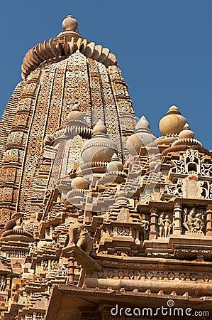 Vamana temple at Khajuraho
