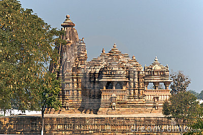 Vamana temple at Khajuraho