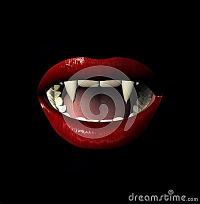 Vamp Lächeln