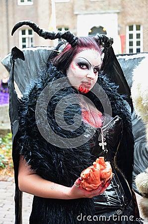 Vampire Editorial Image