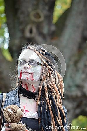 Vampire Editorial Stock Photo