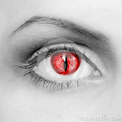 Free Vampire Eyes Stock Images - 27497794
