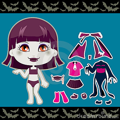 Vampire Fashion Girl