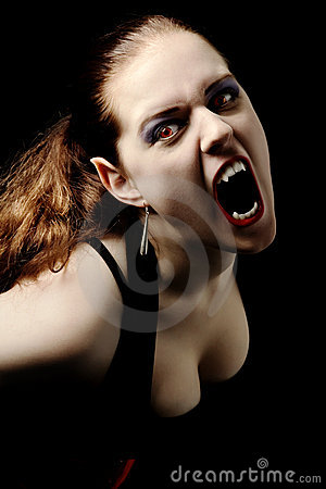 Vampiro che grida