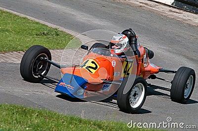 Van Dieman RF 86 racing car Editorial Stock Photo