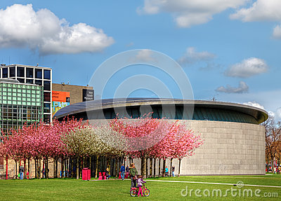 Van Gogh Museum in Amsterdam Editorial Photo