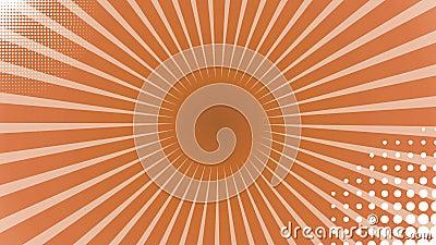Van het achtergrond kleurenpop-art animatie met facultatieve lumasteen Inbegrepen Alpha Luma Matte stock illustratie