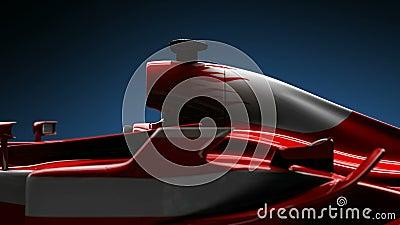 Van het de autodetail van Formule 1 dichte omhooggaand