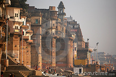 Vanarasi, the holy city of India Editorial Image