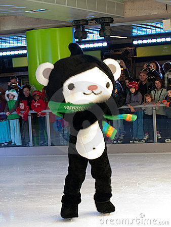 Vancouver 2010 – Olympic Mascots, Miga Editorial Stock Image