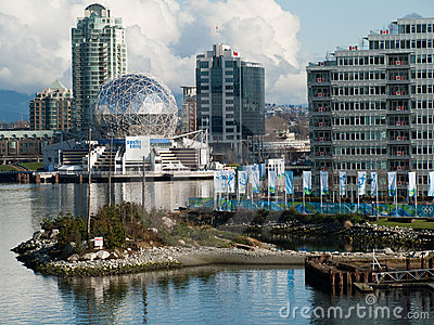Vancouver 2010 - Olympic Village Editorial Stock Image