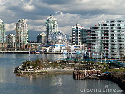 Vancouver 2010 - Olympic Village Editorial Image