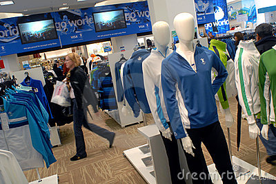 Vancouver 2010 Olympics merchandise Editorial Stock Photo
