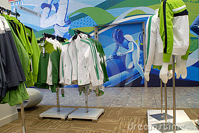 Vancouver 2010 Olympics merchandise Editorial Photography