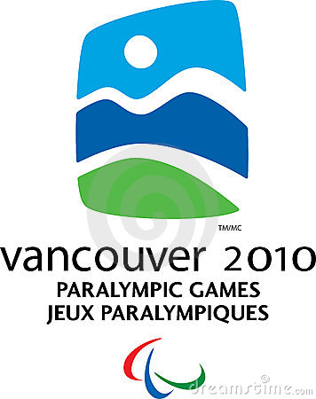 Vancouver 2010 Paralympic logo Editorial Stock Photo