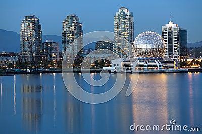 Vancouver B.C., Canada Skyline, skyline