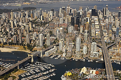 Vancouver in British Columbia - Canada