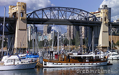 Vancouver - Burrard Bridge - Canada