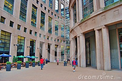 Vancouver Library in Canada Editorial Image