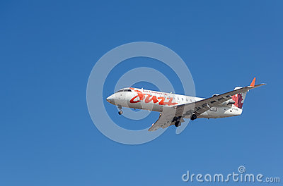 Air Canada Jazz aircraft Editorial Photo