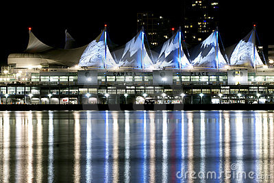 Vancouver Canada Place Editorial Stock Image