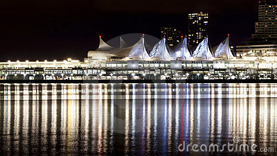 Vancouver Canada Place Editorial Photo